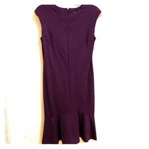 Ann Taylor purple dress